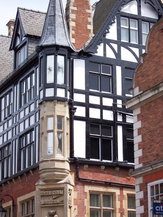 Grosvenor Hotel in Chester, England