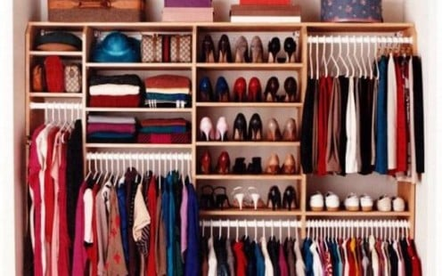 Organising Cupboards, Closets and Drawers as a Part of Spring Cleaning Exercise