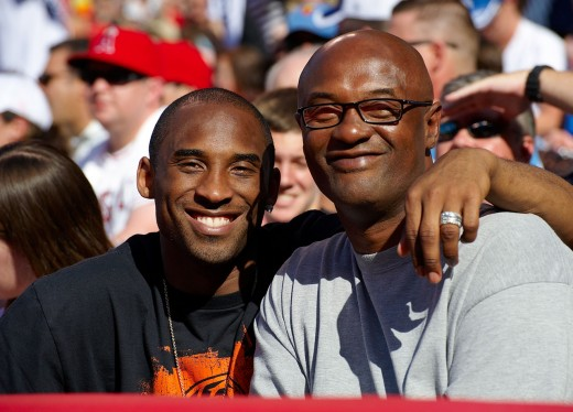 Kobe Bryant got the love for basketball from his father,