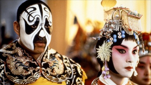 Peking Opera as featured in Farewell My Concubine.  Maybe your father liked it when he was stationed in Hong Kong.