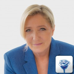 Marine Le Pen refuses to wear scarf