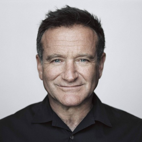 The late Robin Williams.