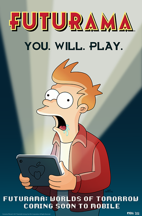 It's back to the future with Futurama: Worlds of Tomorrow, to-be-released sometime in the future.