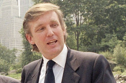 Trump in his younger days