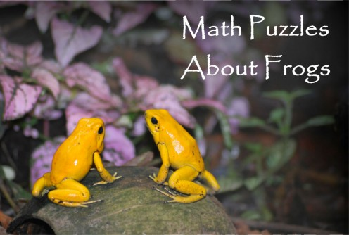 Brain Teasers & Math Puzzles About Frogs
