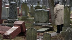 What you think of the many Americans showing up to clean Jewish cemetery vandalized in St Louis?
