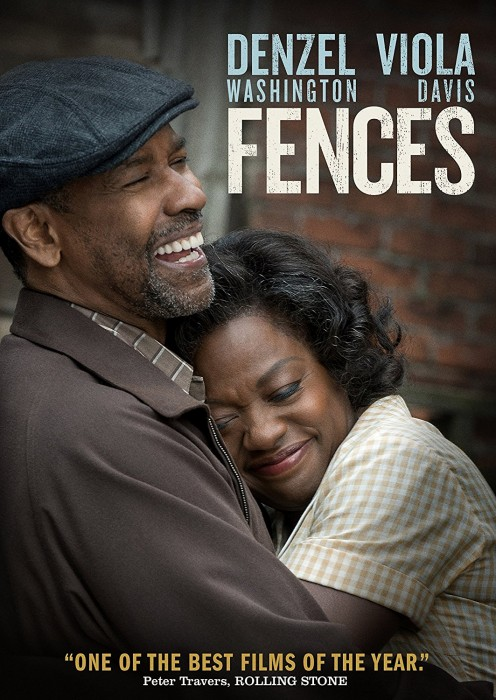 Fences Directed by Denzel Washington. Best supporting actress Viola Davis.  c/o Amazon
