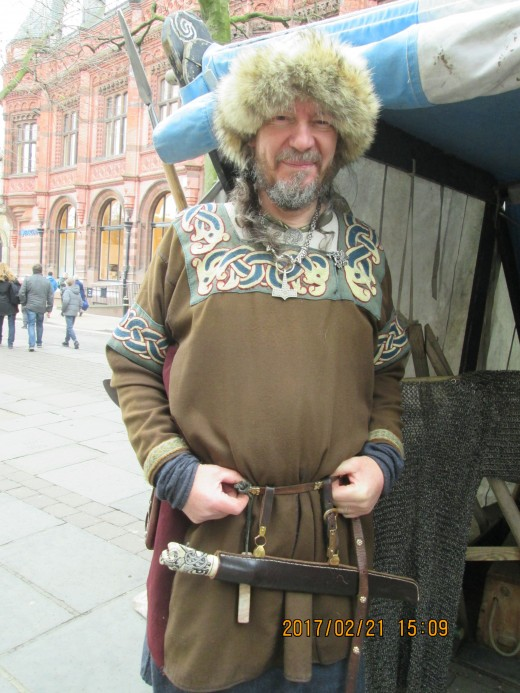 This is Russell, 'Rus' his character from the wild wastes of the rivers Dnieper or Volkhov, on which centres such as Holmgard (Novgorod) or Koenungagard (Kiev) provided markets for furs from the north....