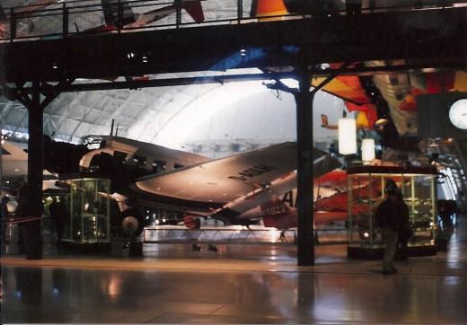 The CASA 352 at the Udvar-Hazy Center.