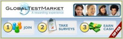 A review of GlobalTest Market - Paid Survey site to make money online