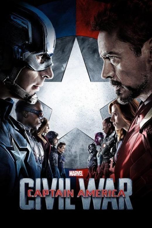 Captain America Civil War Promo Poster. Source: Marvel Studios
