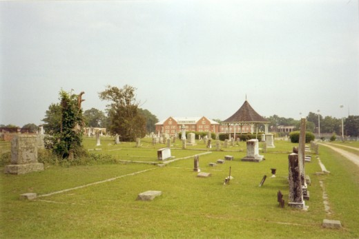 Old Cemetery in Newberry South Carolina area.
