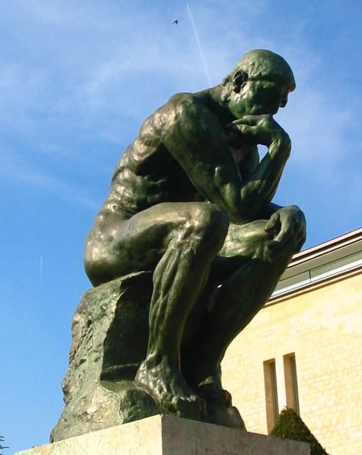 "Rodin'a ""The Thinker"""
