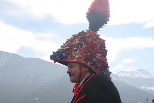 Baio Sampeyre Italy 2017 costume