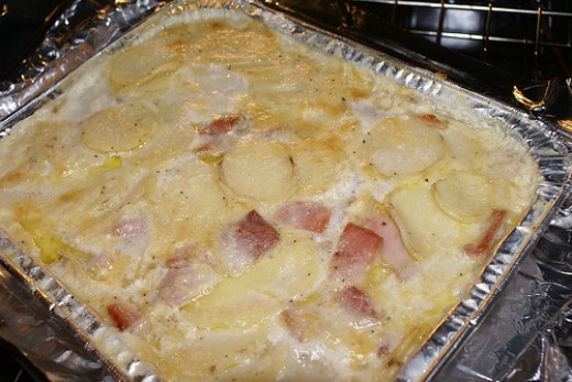 Awesome Scalloped Potatoes And Ham Recipe