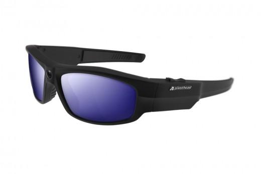 Pivothead 1080 HD 8MP Video Recording Camera Polarized Hands-Free Sunglasses