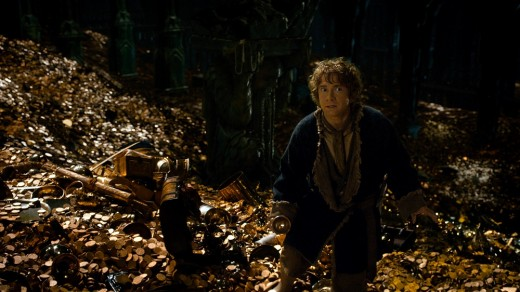 Freeman once again impresses as Bilbo who starts to notice the ring's strange magic for the first time