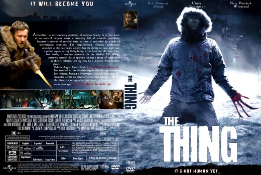 The Thing 2011. It's not human. Yet.