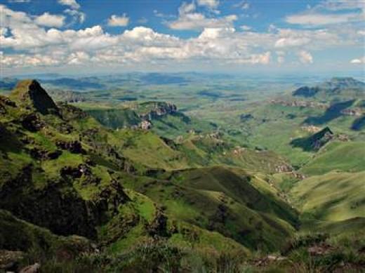 Olieviershoek Pass, Kzn, South Africa
