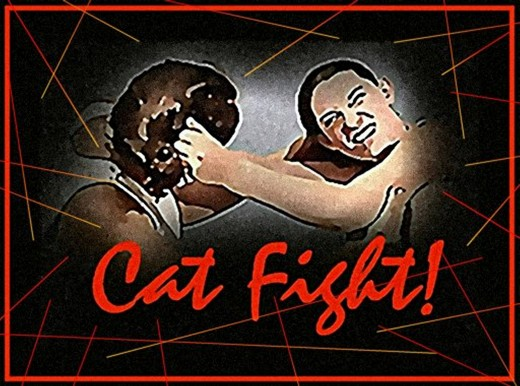 """Cat Fight"" - Design By Tonie Cook"