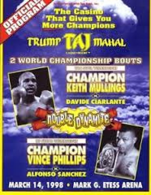 This program features a bout with Kieth Mullings in the main event.