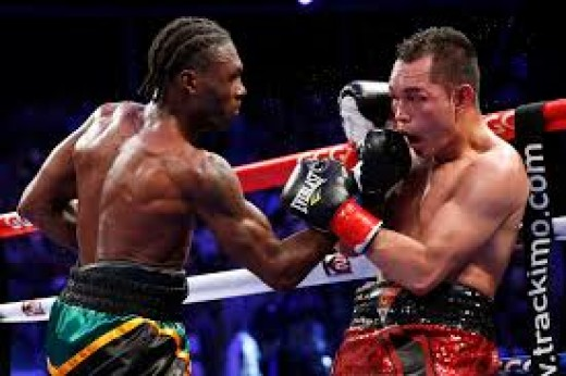 Nicholas Walters knocked Nonito Donaire out in the 6th round of their featherweight title bout.