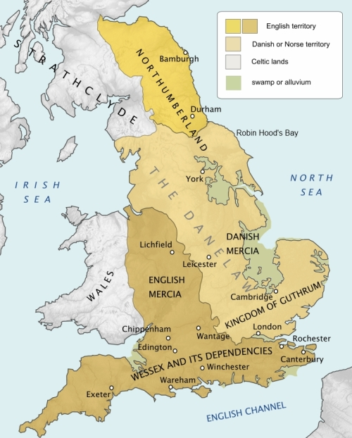 After partition - the Danelaw and Danish York, AD 878, a new veneer of speech