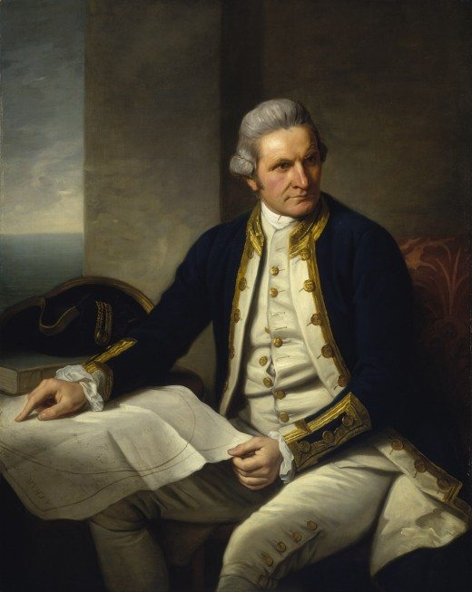 Captain James Cook was born at Marton in Cleveland, now a suburb of Middlesbrough. Back then Marton was the larger community before industry reached the area in 1850
