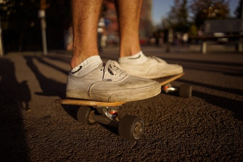 The skateboard is the evolution of skates.