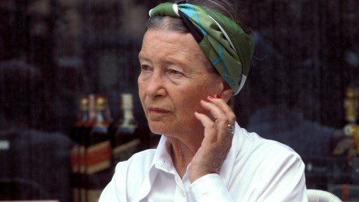 Simone de Beauvoir French feminist and author of The Second Sex.