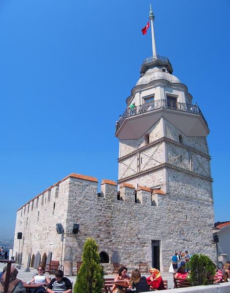 Maiden's tower.