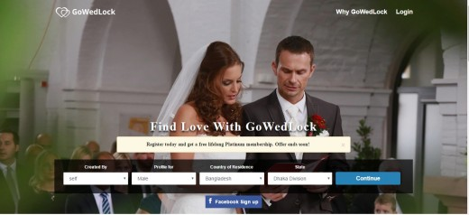 GoWedLock is an online christian marriage portal offering matrimonial services to all the christians across the world especially for Telugu, Chavara, Kerala members and to many others. GoWedLock offers various unique features which are designed to h