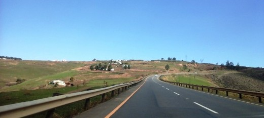 En route to Ixopo, KZN, South Africa