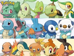 20 Years of Pokemon: Fire, Water and Grass. Which Region has the Strongest Starter?