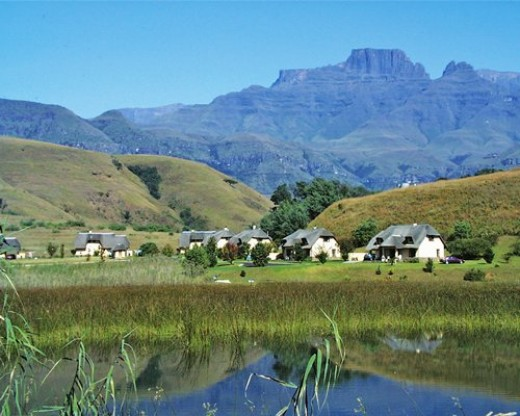 Mount Champagne, Drakensberge, KZN, South Africa