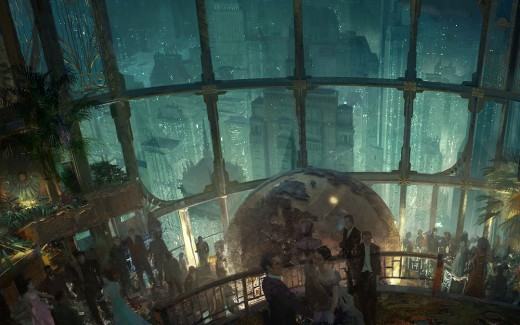 The gorgeous art of Bioshock deserves to be seen on the big screen.