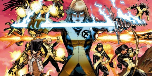 The new X-Men from the comics.