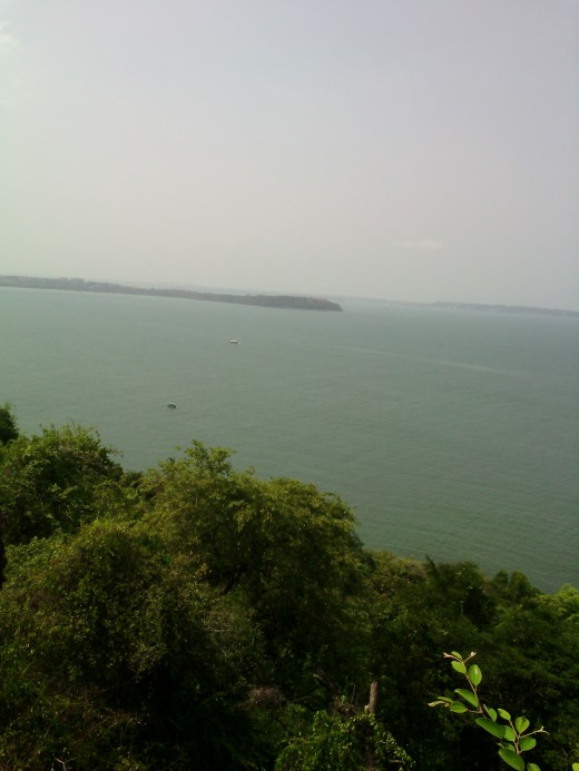 Arabian Sea from Aguada Fort