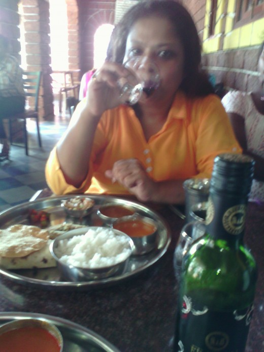 Lunch time at Goa