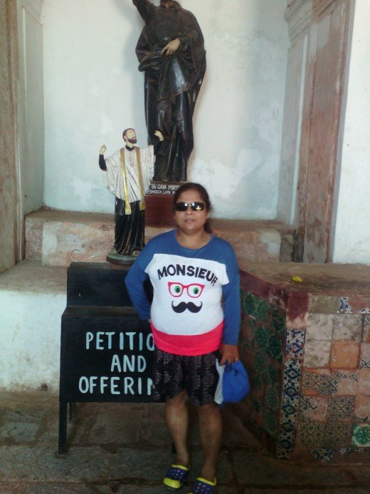 Papu at St. Francis Xavier's church
