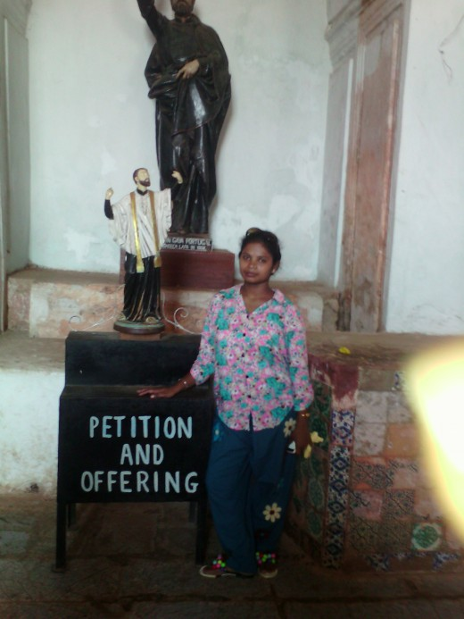 Chandana at the same church