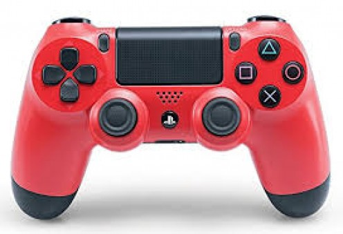The PS4 controller vibrates and has all the buttons the PS3 has except the new version has a spot to attach head phones, a speaker on the controller and instead of a start and select button it has a options button and a mouse pad.