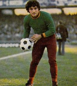In his debut 1971–72 season, Francesco Quintini was the shortest goalkeeper of the Serie A.