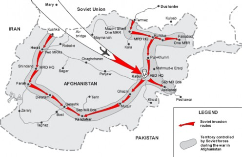 The Soviet invasion of Afghanistan in December 1979 lasted over nine years and would end in disaster for the Soviet armed forces and help bring about the end of the Soviet Union. It would cost an estimated 2 million Afghans their lives.