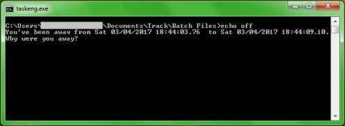 A Simple Time Tracking Tool Using Batch Files and Windows Task Scheduler