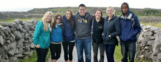Volunteering in Ireland.