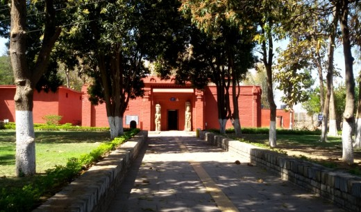 The Museum at Laxman temple
