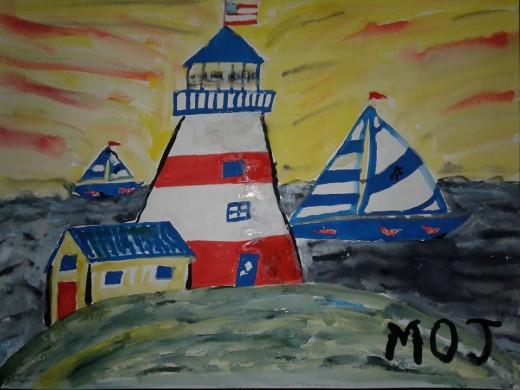 The Lighthouse/Symbolic of LIfe