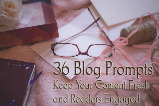 36 Blog Writing Prompts for Any Niche