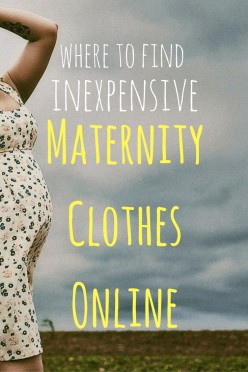 12 Places to Buy Cute and Affordable Maternity Clothes Online